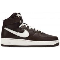 Nike Air Force 1 High Retro - Men's Casual Shoes - Chocolate/Sail