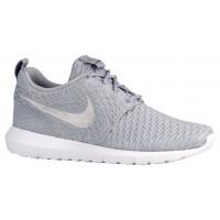 Nike Performance Roshe One Flyknit NM - Men's Training Shoe - Wolf Grey/Wolf Grey/White
