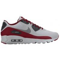 Nike Sportswear Air Max 90 Ultra Essential - Men's Trainers - Wolf Grey/Black/Team Red/Dark Grey