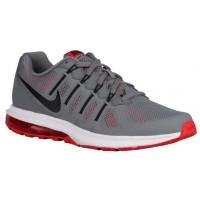 Nike Performance Air Max Dynasty - Cool Grey/Light Crimson/White/Black - Men's Neutral Running Shoes