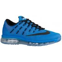 Nike Air Max 2016 - Men's Running Shoes - Photo Blue/Total Orange/Black