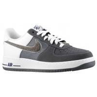 Nike Sportswear Air Force 1 Low Nubuck - Stealth/Dark Grey - Men's Shoes