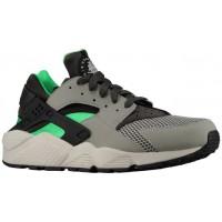 Nike Air Huarache - Men's Running Shoes - Mine Grey/Midnight Fog/Poison Green/Black