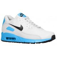 Nike Air Max 90 Premium Comfort EM - Men's Trainers - Pure Platinum/Black/Blue Hero