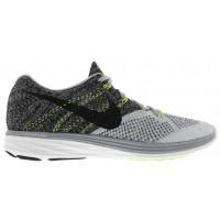 Nike Flyknit Lunar 3 - Men's Sneaker - Wolf Grey/Black/White/Volt