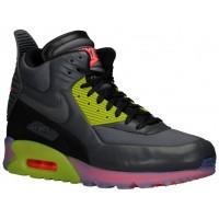 Nike Sportswear Air Max 90 Sneakerboot Ice - Men's - Dark Grey/Fierce Green/Hyper Punch/Black