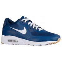 Nike Air Max 90 Ultra Essential - Coastal Blue/White - Men's Running Shoes