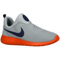 Nike Performance Roshe One Slip On - Silver Wing/Team Orange/Cool Grey/Obsidian - Men's Training Shoe