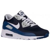 Nike Sportswear Air Max 90 Ultra Essential - Obsidian/White/Coastal Blue/Wolf Grey - Men's Trainers