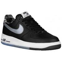 Nike Sportswear Air Force 1 Low - Men's Sneaker - Black/Metallic Silver/White