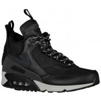 Nike Air Max 90 Sneakerboot - Men's - Black/Magnet Grey