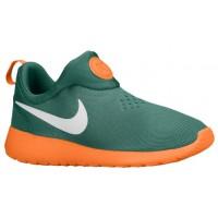 Nike Performance Roshe One Slip On - Men's Shoe - Jade Glaze/Total Orange/White