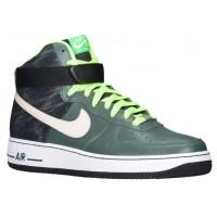 Nike Air Force 1 High Leather - Men's Shoes - Vintage Green/Mortar/Black