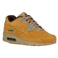 Nike Sportswear Air Max 90 Premium - Men's Running Shoes - Bronze/Baroque Brown/Bamboo