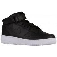 Nike Sportswear Air Force 1 Mid LV8 - Black/White/Black - Men's Sneaker