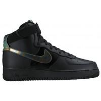 Nike Air Force 1 High LV8 - Men's Casual Shoes - Black/Metallic Gold/Black