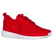 Nike Performance Roshe One Flyknit NM - Men's Shoe - University Red/White