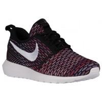 Nike Performance Roshe One Flyknit NM - Men's Training Shoe - Black/University Red/Deep Royal/White