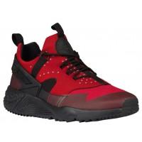 Nike Air Huarache Utility - Men's Running Shoes - Gym Red/Black