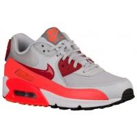 Nike Sportswear Air Max 90 Essentials - Pure Platinum/Gym Red/Total Crimson - Women's Running Shoes