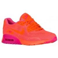 Nike Sportswear Air Max 90 Ultra Breathe - Total Crimson/Pink Blast - Women's Running Shoes