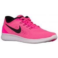 Nike Performance Free RN - Women's Running Shoe - Pink Blast/Fire Pink/White/Black