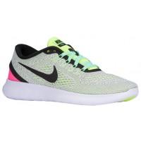 Nike Performance Free RN - Women's Trainers - White/Black/Volt/Pink Blast