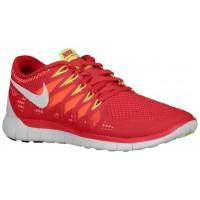 Nike Performance Free 5.0 - Ladies Training Shoe - Legion Red/Laser Crimson/Atomic Mango/White