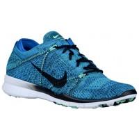 Nike Free TR 5 Flyknit - Ladies Running Shoe - Soar/Black/White/Black