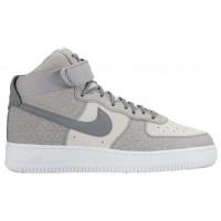 Nike Sportswear Air Force 1 High Premium Suede - Matte Silver/Clear Grey/Pure Platinum - Ladies Sneaker