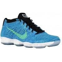Nike Performance Flyknit Zoom Agility - Game Royal/Black/Green Glow - Women's Training Shoe