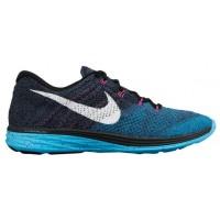 Nike Flyknit Lunar 3 - Squadron Blue/Clearwater/Blue Lagoon - Ladies Sneaker