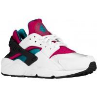 Nike Sportswear Air Huarache - Women's Running Shoes - Sport Fuchsia/Summit White/Radiant Emerald