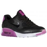 Nike Air Max 90 Ultra Essentials - Black/Purple Dusk/Mulberry - Ladies Trainers
