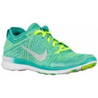 Nike Free TR 5 Flyknit - Lt Retro/Artisan Teal/Volt/White - Women's Running Shoe