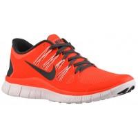 Nike Performance Free 5.0+ - Total Crimson/Light Blue/Pearl Pink - Women's Running Shoe