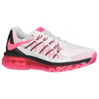 Nike Air Max 2015 - White/Black/Pink Pow - Ladies Running Shoes