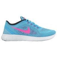 Nike Performance Free RN - Women's Training Shoe - Gamma Blue/Pink Blast/Photo Blue/Black