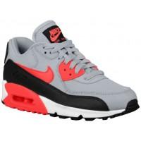 Nike Sportswear Air Max 90 Essential - Wolf Grey/Infrared/Black/White - Ladies Running Shoes