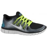 Nike Performance Free 5.0+ - Black/Pure Platinum/Metallic Dark Grey - Women's Training Shoe
