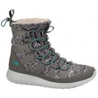 Nike Performance Roshe One Hi Sneakerboot - Light Ash/Medium Ash/Light Ash Grey/Dusty Cactus - Women's Training Shoe