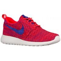 Nike Performance Roshe One Flyknit - Bright Crimson/Persian Violet/University Red/White - Ladies Training Shoe