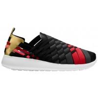 Nike Roshe One Slip N7 - Black/Anthracite/Metallic Gold/University Red - Ladies Training Shoe