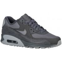 Nike Sportswear Air Max 90 Premium - Dark Grey/Wolf Grey - Ladies Running Shoes