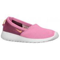Nike Roshe One Slip - Pink Glow/Lt Lucid Green/Summit White/Atomic Mango - Women's Trainers