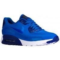 Nike Sportswear Air Max 90 Ultra Essentials - Soar/Deep Royal Blue/Black - Ladies Running Shoes
