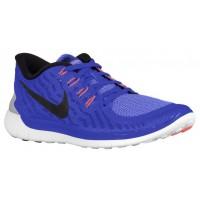 Nike Performance Free 5.0 - Racer Blue/Chalk Blue/White/Black - Women's Lightweight Running Shoes