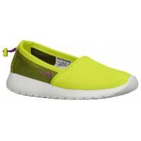 Nike Performance Roshe One Slip - Venom Green/Summit White/Bright Grape - Women's Shoe