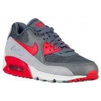 Nike Air Max 90 Essential - Women's Trainers - Dark Grey/Wolf Grey/Summit White/University Red