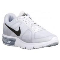 Nike Performance Air Max Sequent - Women's Trainers - White/Cool Grey/Pure Platinum/Metallic Dark Grey